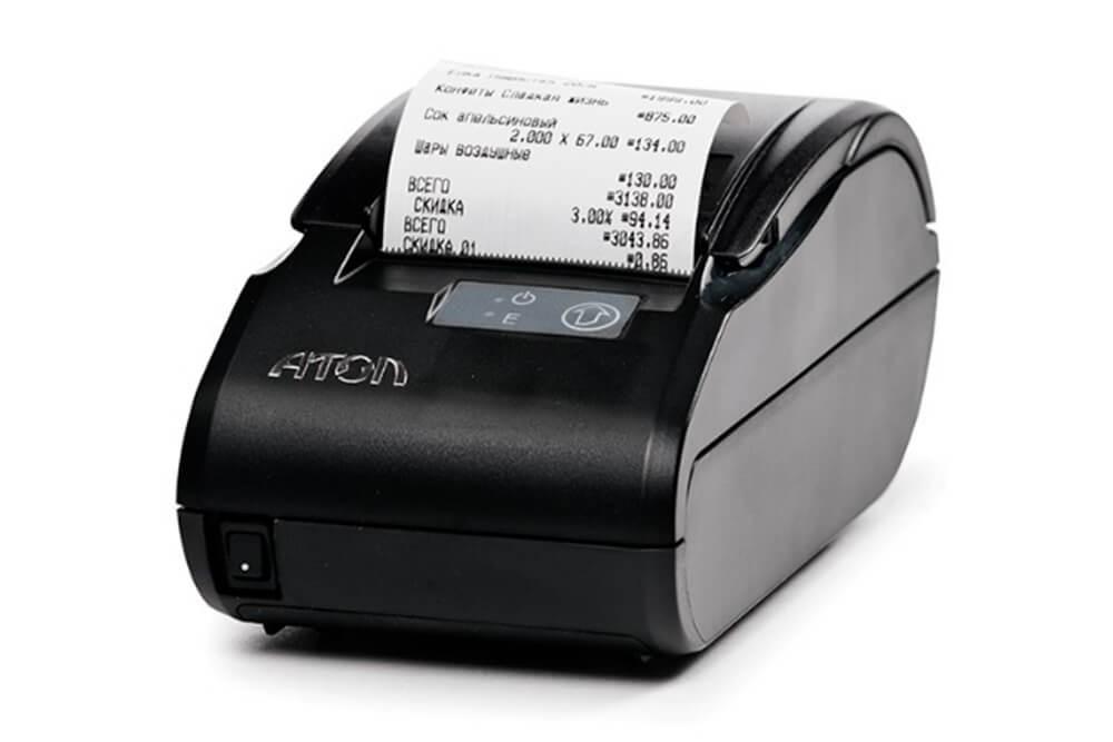 Фискальный регистратор АТОЛ 11Ф Мобильный. (BT, 2G, АКБ)