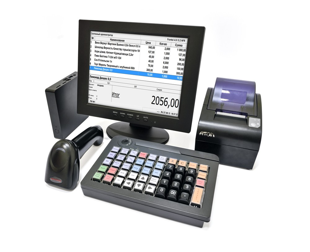 POS-система АТОЛ Ритейл ЕГАИС Pro Smart