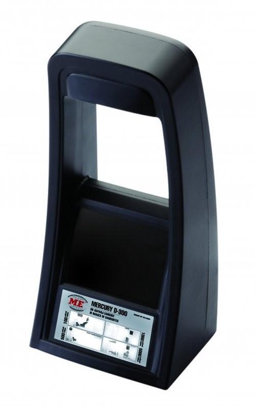 Детектор банкнот Mercury D-300 Compact с АКБ (черный)