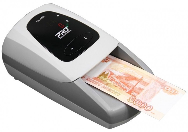 Детектор банкнот Pro CL-200R