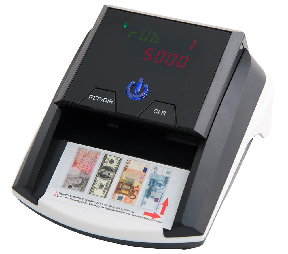 Детектор банкнот Mercury D-20A