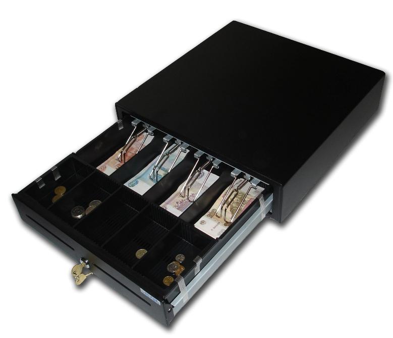 Денежный ящик Vioteh HVC-16 черный Штрих/Posiflex