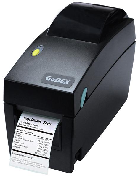Принтер этикеток Godex DT2 Ethernet RS232 USB