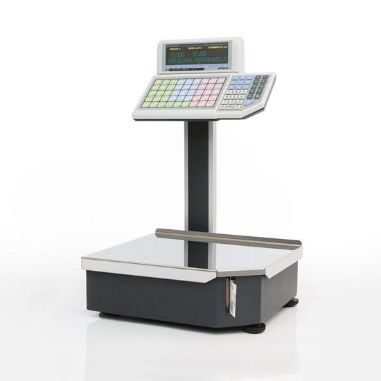 Весы с принтером этикеток Штрих-Принт 4.5