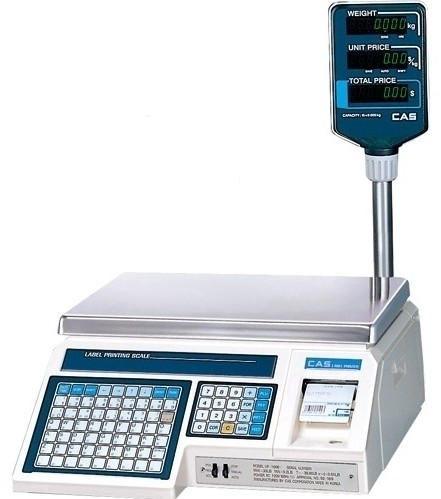 Весы с принтером этикеток CAS LP-30R (1.6)