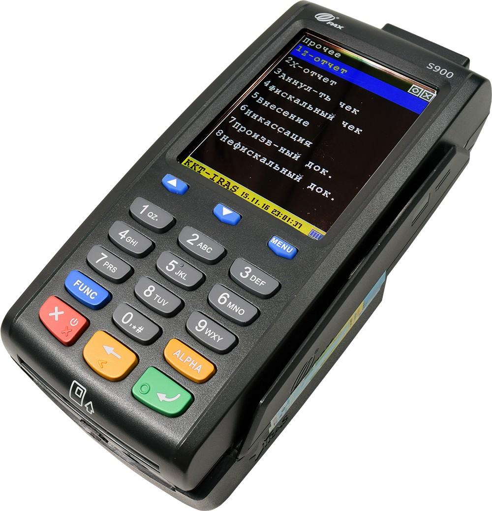 Портативный кассовый аппарат ПТК Iras 900 K с приемом пластиковых карт