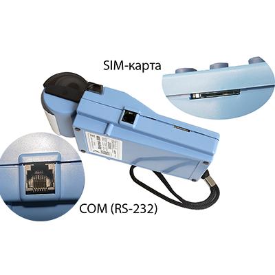 COM порт на левой стороне ККТ Меркурий-180Ф