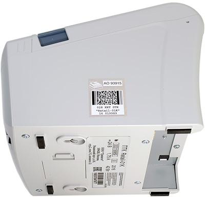 Вид на боковую панель фискального регистратора Retail-01Ф