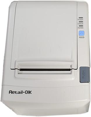 Вид сверху на фискальный регистратор Retail-01Ф