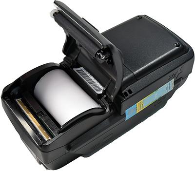 IRAS 900 K принтер изнутри с бумагой