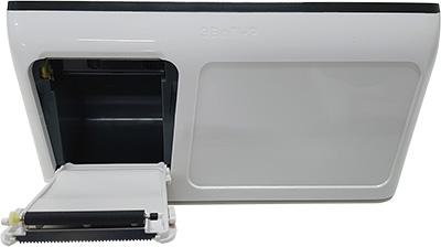 Открытая крышка принтера ЭВОТОР 10