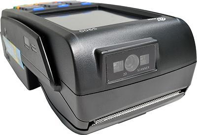 Вид на сканер IRAS 900 K