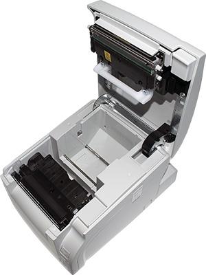 Открытая крышка принтера АТОЛ 77Ф